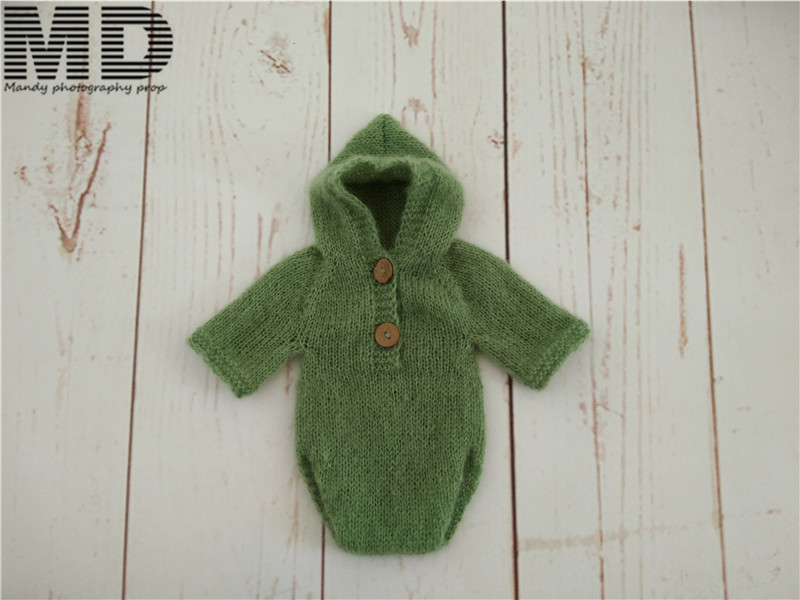 Baby mohair outfits Newborn Mohair Overall Romper Set Photography Props Baby Girl bodysuit,newborn jumpsuit photo props