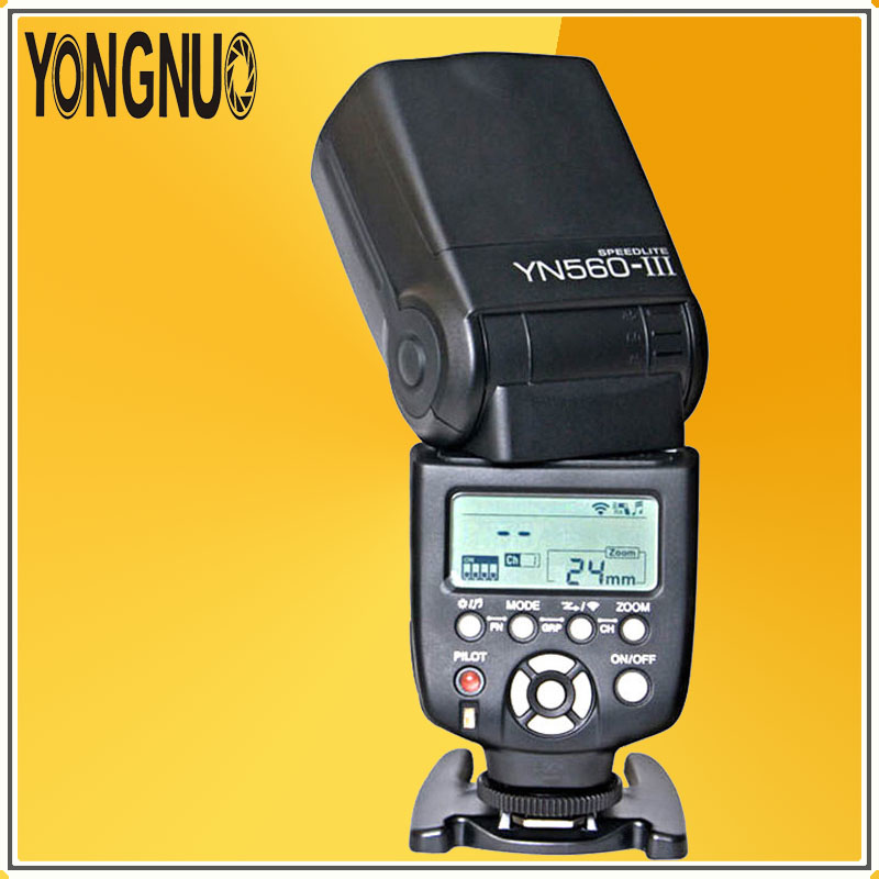 YONGNUO YN560III YN560 III Professional Wireless Flash Speedlite Speedlight Flashlight For Canon Nikon Olympus Pentax Cameras