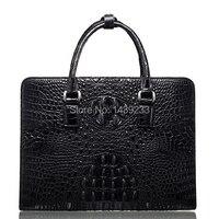 Натуральная крокодиловая кожа портфель мужская деловая сумка крокодиловая кожа 100% оригинальный материал