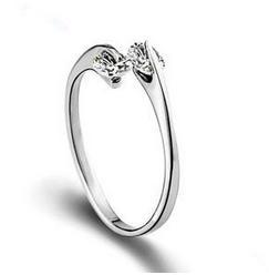 2016 new arrival 925 sterling silver ring zircon rings ...