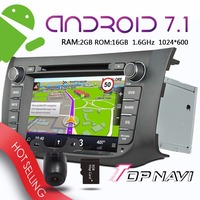 Topnavi 8'' Android 7.1 Auto Players for Nissan SYLPHY B17 Sentra 2012 2013 2014 Car Multimedia Audio Radio 3G GPS Navigation