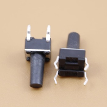 YuXi 1pcs Push Button Switch 6*6*11 Tact Switch Tactile 6x6x11 SMD SMT height is 11mm image