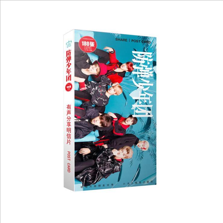 Kpop Bangtan Boys S Fifth Album Bangtan Love Yourself A Little Sticker Cards 30 30 120 Cards Share K-pop Photo Postcard Gift