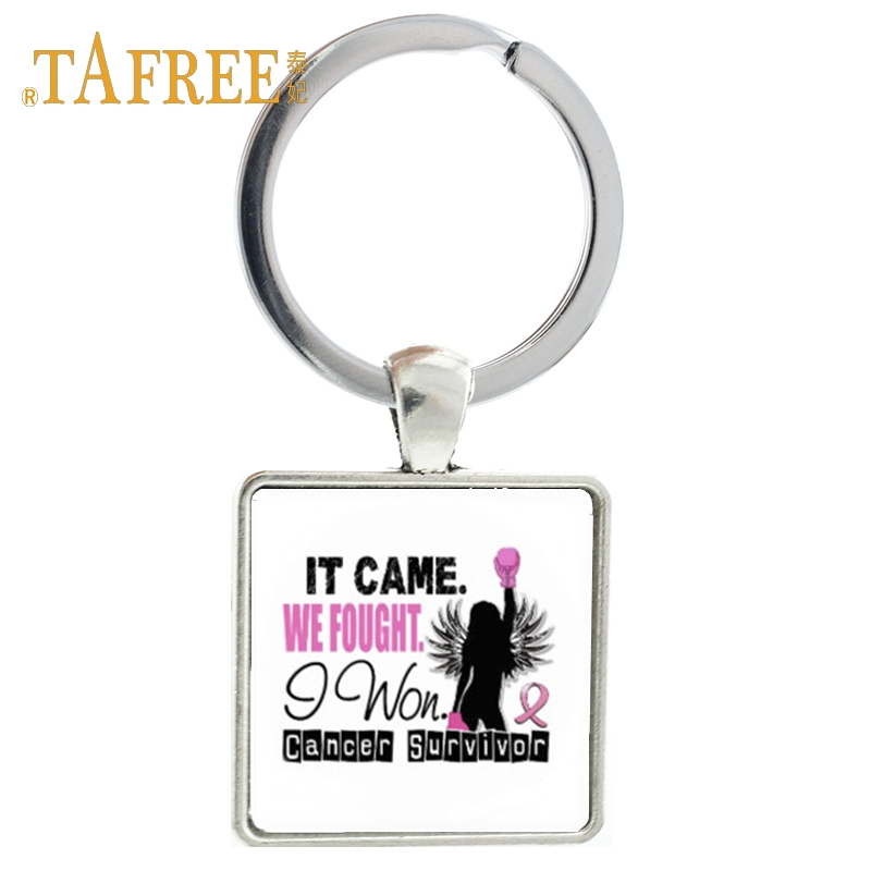 Grandpas,Dads Without Rules Dome Keyring Glass Cabochon Keychain Purse//Bag Charm