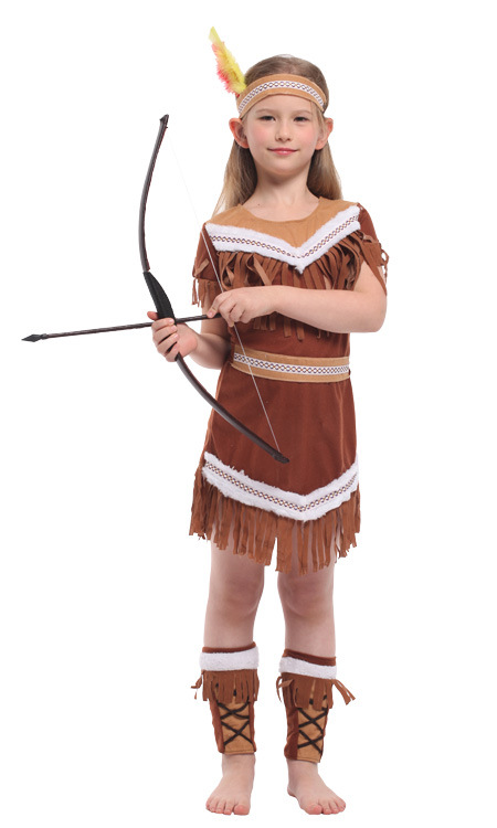 Halloween Kids Costumes Girls.Us 18 68 11 Off Indian Princess Policewoman Costume For Girls Fantasia Infantil Halloween Fancy Costume Girls Police Sailor Cosplay Costume In Girls