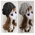 High quality casual  letter pattern fashion cap acrylic  hat beanies Free Shipping MF962545