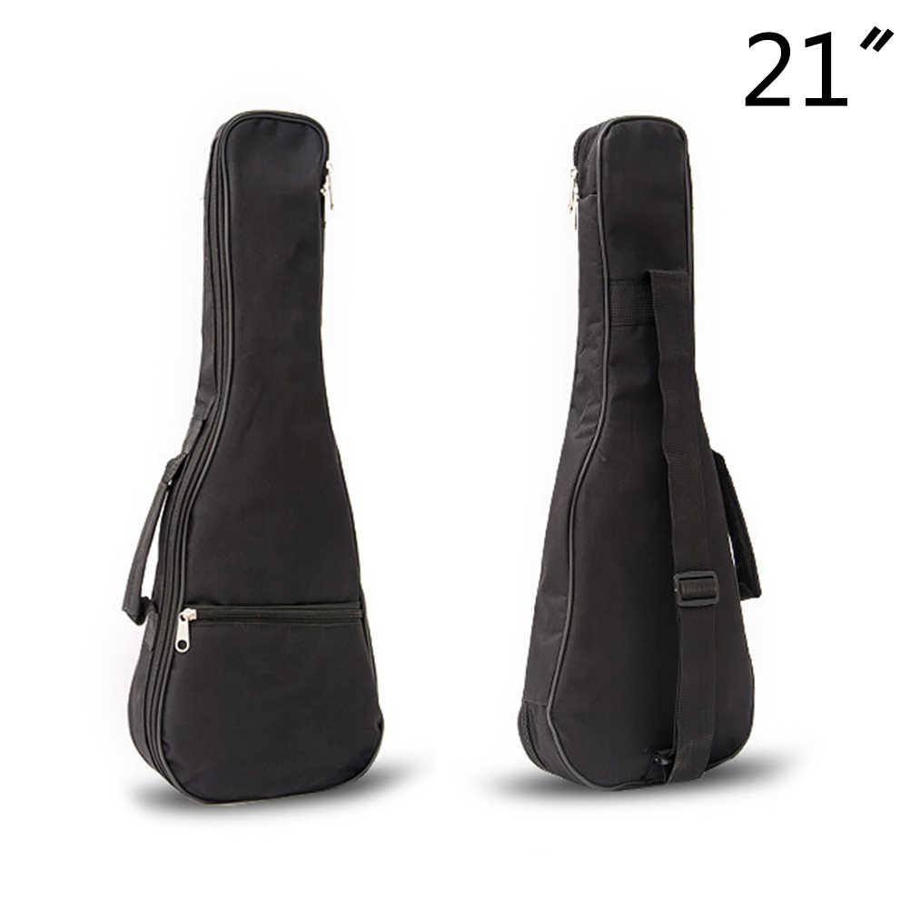 1Pc 21 polegada Ukulele Gig Bag Saco de Guitarra À Prova D' Água Da Tampa Do Caso Macio 58*20 Engrenagem Luz-Preto * 6 cm