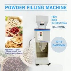 Automatic 10~999G Racking Filling Filler Weigh Powder Machine Tea/Seed/Grain