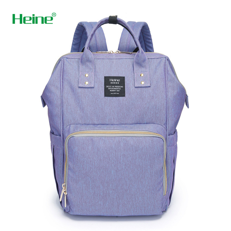 Heine Fashion Mummy Maternity Nappy Bag Brand Large Capacity Baby Bag Travel Backpack Desinger Nursing Bag for Baby Care
