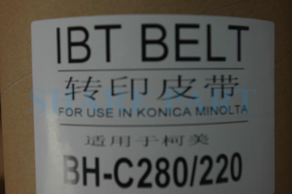 1X KT New transfer belt A0EDR71600 A0EDR71622 A0EDR71633 A0EDR71644 For Konica Minolta bizhub C220 C280 C360 1pc compatible new transfer belt for konica minolta bizhub c224 c284 c364 c454 c554 c224e c284e c221 c281 belt copier part