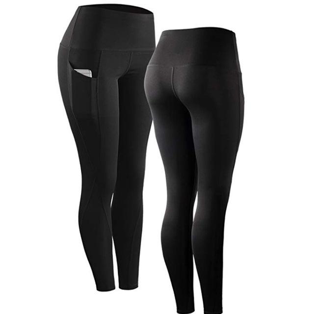 Leggings deportivos de cintura alta con bolsillo