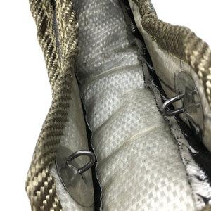 Image 5 - T3 T25 T28 Titanium Turbo Blanket With Stainless Steel Mesh Turbo Heat Shield An 5M Titanium Turbo Heat Wrap Exhaust Tape