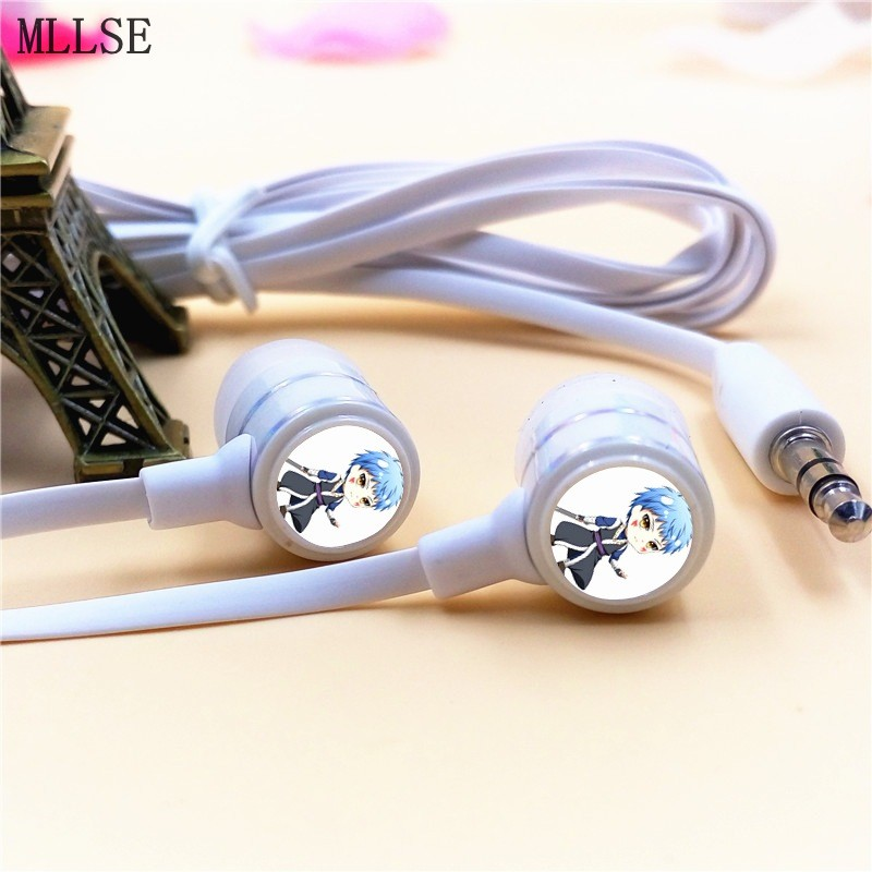 MLLSE Anime Akatsuki no Yona of the Dawn Shin-Ah In-ear Earphone 3.5mm Stereo Earbuds Phone Game Headset for Iphone Samsung MP3 rebelts yona пояс с заклепками