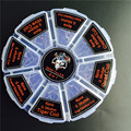8 в 1 Демон Убийца Нагревательный Провод Готовых Рулонов Клэптон Quad тигр Улей Чужеродных Плавленого Клэптон Смешивания Витой Пружины Dripka RDA Распылителя
