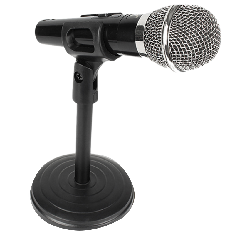 MOOL Desktop Microphone Stand Adjustable Disc Microphone Stand
