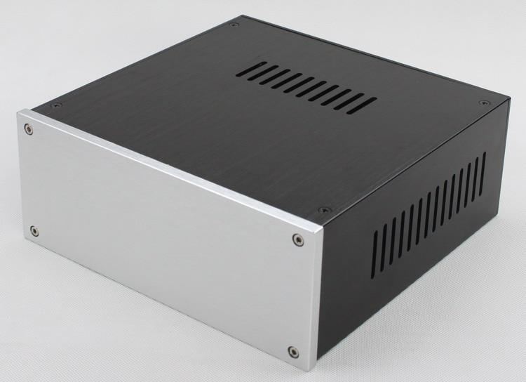 WA57 Complet en aluminium amplificateur châssis/Pré-amplificateur/DAC Décodeur/AMP Boîtier/cas/BRICOLAGE boîte (225*92*227mm)