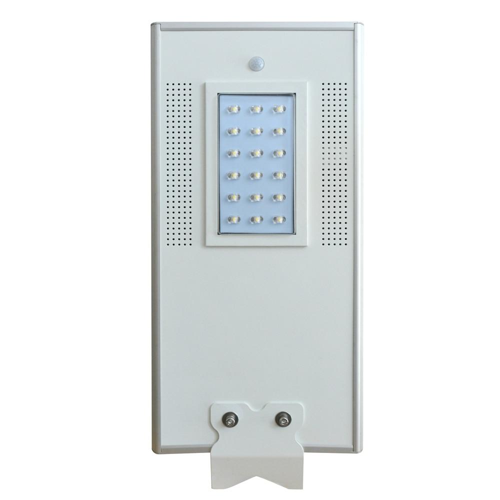 18W Outdoor Waterproof Motion Sensor Solar Powered LED Pole Wall Street Path Light