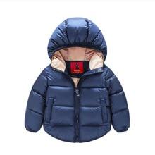 7 24months font b Winter b font Newborn Baby Snowsuit Cotton Girls font b Coats b