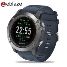 Купить с кэшбэком Upgrade Zeblaze VIBE 3 HR Color Display IPS Smartwatch IP67 Waterproof Wearable Device Heart Rate Monitor Outdoor Smart Watch