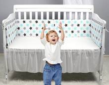 cross-border baby bed guardrail bed surrounding baby anti-collision cotton removable and washable baby bed bumper crib(China)