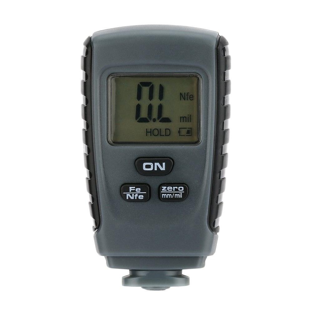 RM660 Digital Coating Thickness Gauge Car Paint Thickness Meter Paint Thickness tester Thickness Gauge LCD Display