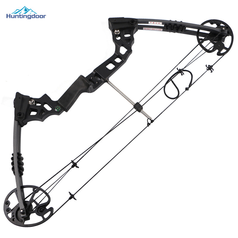 20 70lbs Black Compound Bow High Strength Alloy Hunting