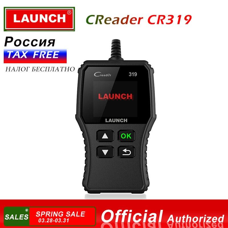 Lançamento Creader 319 CR319 X431 OBD2 OBD EOBD OBDII Ferramenta de Diagnóstico Automotivo Completo CR3001 AD410 ELM327 NT200C Scanner