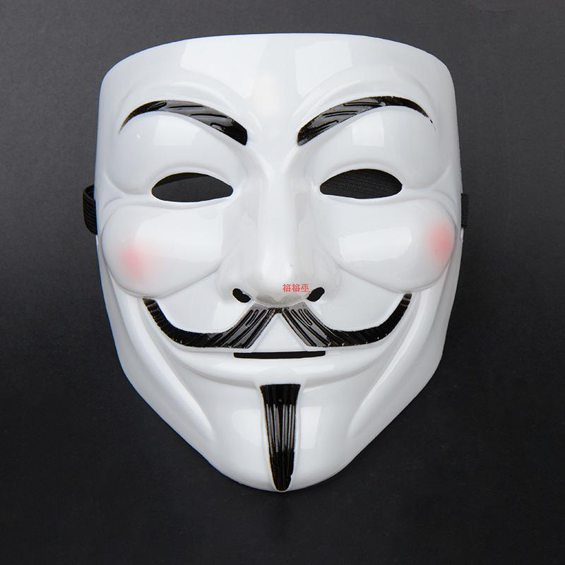 20pcs Lot Fun Mask Toy White New V For Vendetta Anonymous Movie Guy Fawkes Vendetta Mask