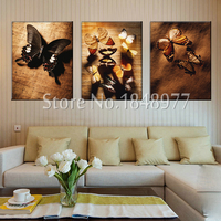 3 Panel Modern Wall Art Butterfly Painting Pictures Printed Animal Picture Home Decoration For Living Room Decoration