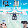 MJX X101 Professional Drones BIG Quadcopter wifi FPV Gimbal can Add C4015/C4018/C4016 720P HD Camera Real Time Video Drones