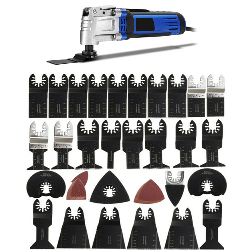 Conjunto para Fein Lâminas para Corte de Madeira Lote Ferramentas Renovador Oscilante Multitool Viu Lâminas Bosch Multifunções Ferramenta Casa 68 Pçs –