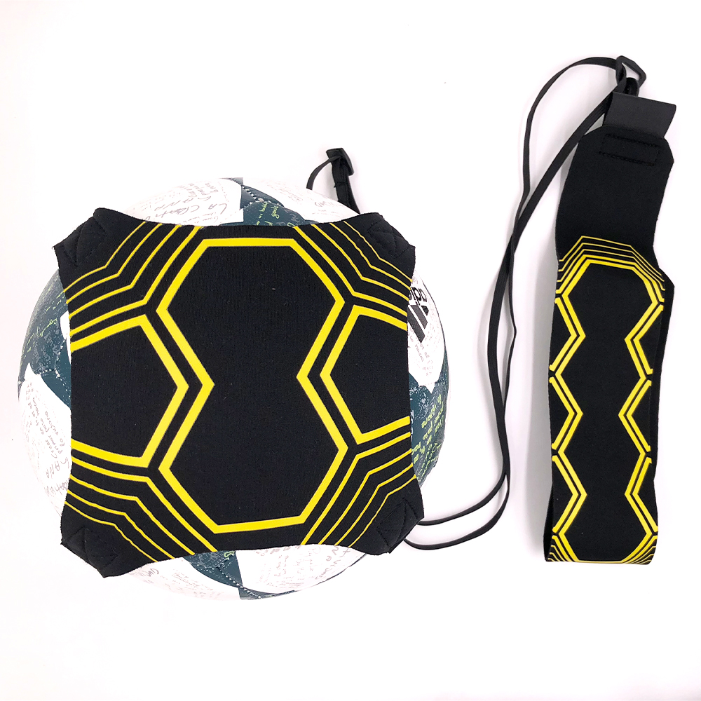 Verkaufs-hochwertige Sport Unterstützung Einstellbar Fußball Trainer 94 cm Fußball Praxis Gürtel Trainingsgeräte Kick
