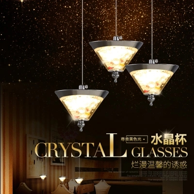 Fashion Modern LED Droplight Glass Crystal Pendant Light Fixtures For Living Dining Room Hanging Lamp Home Lighting a1 master bedroom living room lamp crystal pendant lights dining room lamp european style dual use fashion pendant lamps