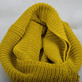 Knitted Scarf Women And Men Knit Double Ring Scarves Show Charm Desigual Warm Brand Scarf Shawls Syal Punto Gift Lovers NWJ004