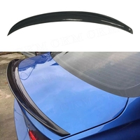 P Style Spoiler Carbon Fiber For BMW Series 4 Door Gran Coupe F36 Carbon Spoiler 2014 2015 2016 2017UP 420i 420d 428i 435i