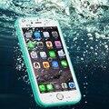 Cubierta del caso del protector del teléfono 2016 A Prueba de agua a prueba de golpes PC TPU caja del teléfono para iPhone6/6 s para iPhone6/6 s más