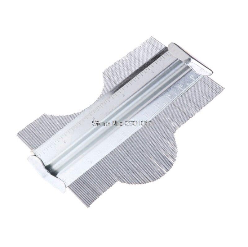 """125mm//5/"""" Profile Contour Gauge Metal Deep Decorating Tiling Template Tiles Tool"""