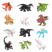 13 шт/12 шт 3-7 см Как приручить 3 фигура игрушки ночная фурия Беззубик модель дракона игрушки куклы Лучшие подарки на Рождество для детей