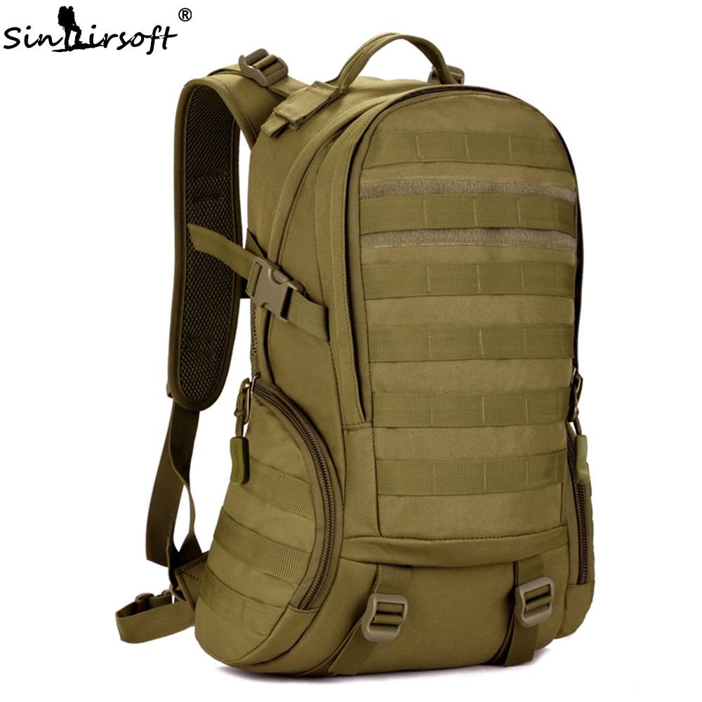 SINAIRSOFT 35L мужской тактический рюкзак военный сумка тактическая кемпинг туризм рюкзак для охоты для похода и туризма спортивная сумка камуфл...