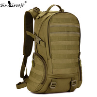 Camping Bags Waterproof Molle Backpack Military 3P Gym School Trekking Ripstop Woodland Tactical Gear For Men