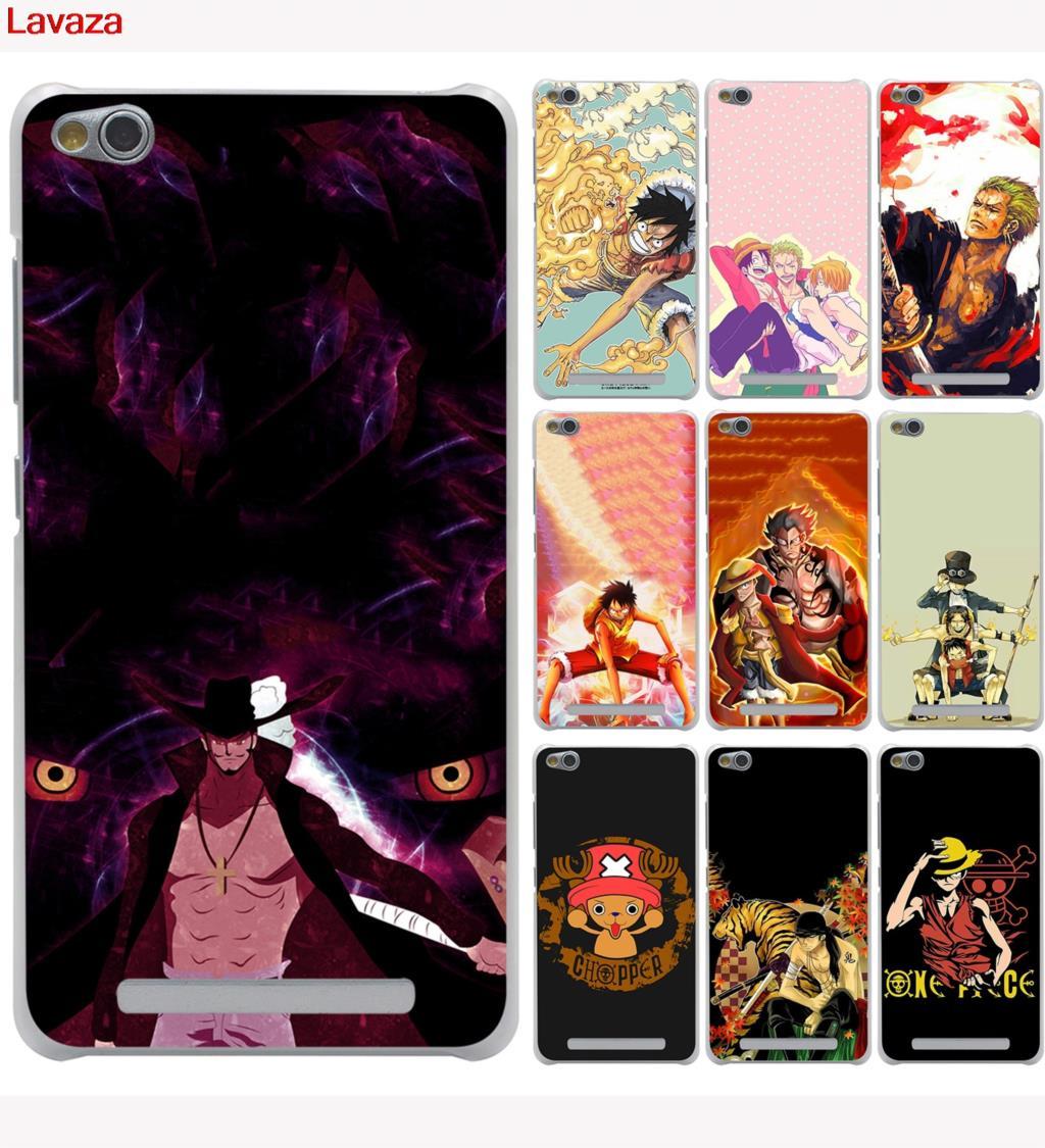 Lavaza Funny One Piece Luffy Hard Case For Xiaomi Redmi 4x Mi Brushed Carbon Armor Soft Mi5s 5s A1 6 5 5x Plus Note 5a 4a 3 3s 4 Pro Mi5x Mi5 Mi6