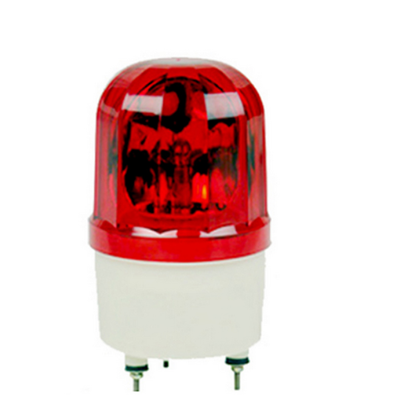 1101J 12v emergency alarm wired flashing LED siren Wired Red Flash Light fire light emer ...