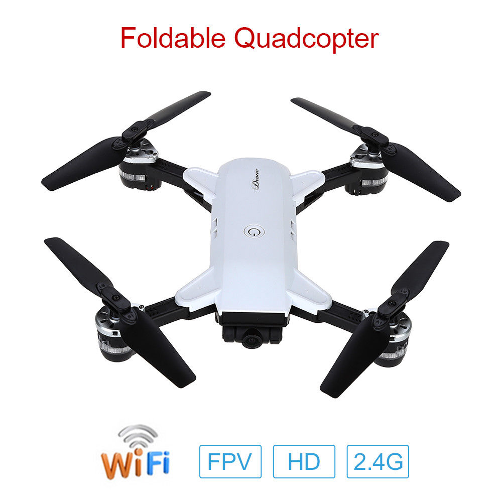 TOMLOV YH-19HW Foldable Selfie Quadcopter 0.3MP HD WiFi FPV Camera 6-Axis Gyro RC Drone Gravity Sensor Aircraft XS809 UAV Toys yh 19hw wifi fpv 2mp camera foldable 2 4g 4ch selfie quadcopter drone rc toys gifts