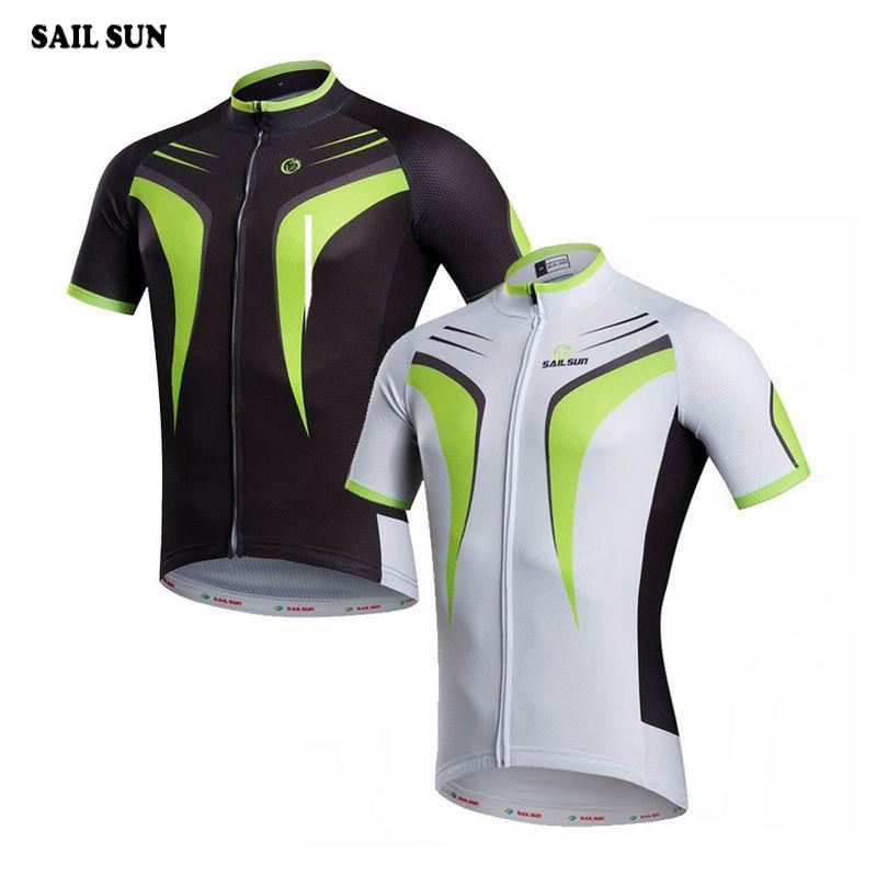 Prix pour VOILE SOLEIL Hommes Cyclisme Maillot Ropa Ciclismo Équipe Vélo Respirant Top Vélo Vêtements T-shirt Cycle Vitesse Shirts