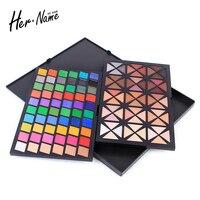 Hername 120 Color Eyeshadow Palette Shimmer Eye Shadow Cosmetics Nude Glitter Eye Nude Makeup Beauty Professional