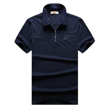 Billionaire polo shirt men 2019 new style comfort zipper collar zipper cotton spartan designed high quality free shipping