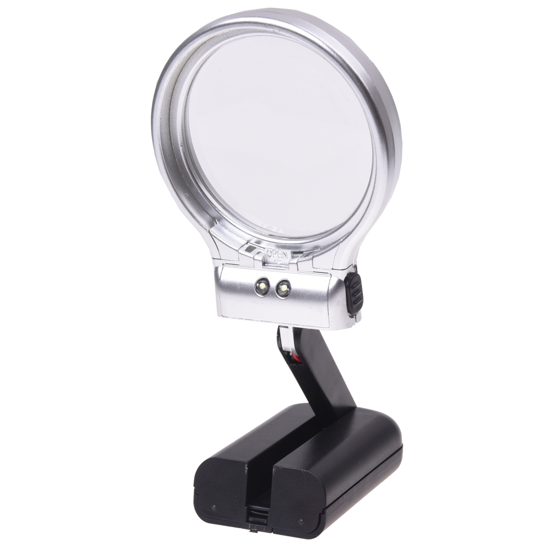 Magnifying Glass 3X Skilled Hand Magnifier Folding Magnifying Glass
