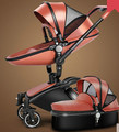 baby Stroller cortex two-way high landscape suspension pram can sit lie baby  cart