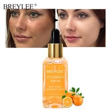 BREYLEE натуральный витамин С Сыворотка осветляет лицо Уход за кожей лица выцветают темные пятна веснушки омолаживающий отбеливающий уход за кожей с сывороткой 15 мл