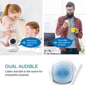 Image 4 - SANNCE 720P HD cámara IP inalámbrica inteligente 1.0MP Audio bidireccional IR visión nocturna cámara PTZ con WiFi CCTV seguridad del hogar monitor de bebé